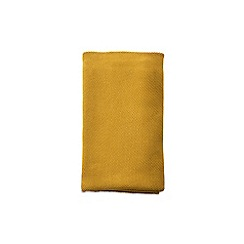 Nkuku - Yellow 'Makani' throw