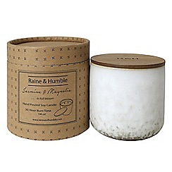 Raine & Humble - Jasmine and Magnolia hand poured scented candle