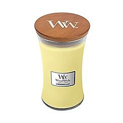 WoodWick - Lemongrass and lily large jar
