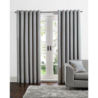 grey linen curtains striped home collection grey linen look eyelet curtains debenhams