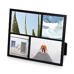 Umbra - Black 'Senza' multi photo frame