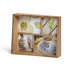 Umbra - Natural wooden multi photo frame