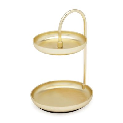 Umbra   Brass 'poise' Ring Holder by Umbra