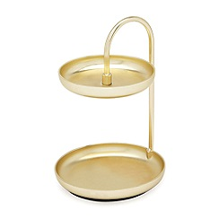 Umbra - Brass 'Poise' ring holder