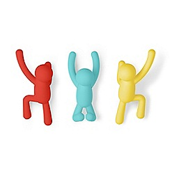Umbra - Pack of 3 'Buddy' wall hooks