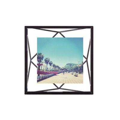 Umbra Prism 4x4 Black Photo Frame Debenhams