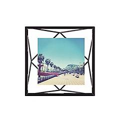 Umbra - Prism 4x4 black photo frame