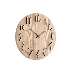 Umbra - Shadow Wall Clock - natural