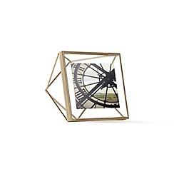 Umbra - Matte brass 'Prisma' photo frame