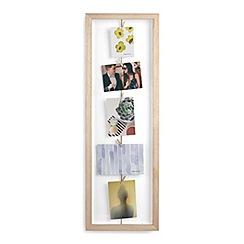 Umbra - Natural 'Clothesline' flip photo display