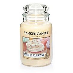 Yankee Candle - Large 'Vanilla Cupcake' scented jar candle