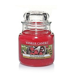 Yankee Candle - Small 'Red Raspberry' scented jar candle