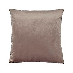 Home Collection - Light pink velvet cushion
