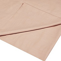 Home Collection - Dusky Pink Egyptian cotton 200 thread count flat sheet