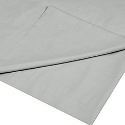 Home Collection - Grey Egyptian cotton 200 thread count flat sheet