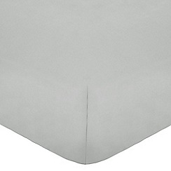 Home Collection - Grey Egyptian cotton 200 thread count fitted sheet