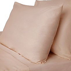 Home Collection - Dusky Pink Egyptian cotton 200 thread count standard pillowcase pair