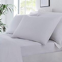 Debenhams - White Organic Cotton Fitted Sheet