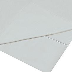 J by Jasper Conran - Supima light blue 500 thread count flat sheet