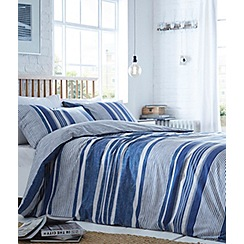 Home Collection Basics - Denim navy blue bedding set