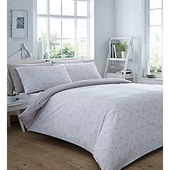 Home Collection Basics - Vector geometric duvet cover