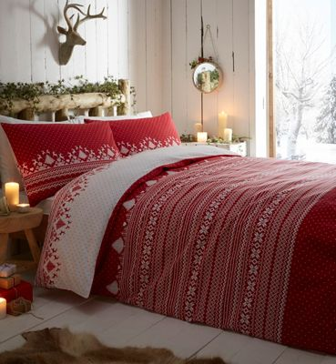 Home Collection Fair isle bedding set | Debenhams