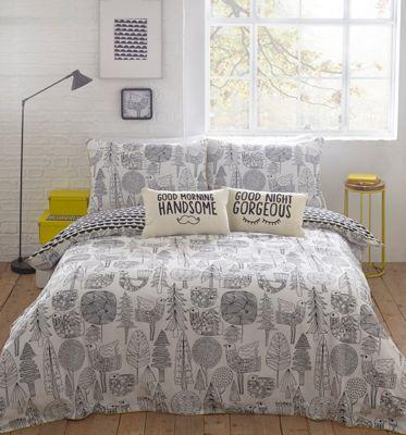 Ben de lisi home duvet covers pillow cases home debenhams ben de lisi home scandi forest bedding set gumiabroncs Images