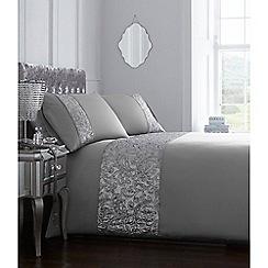 Star by Julien Macdonald - Silver 'Jessica' bedding set