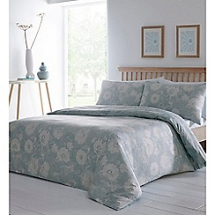Home Collection - Aqua 'Bryony' bedding set