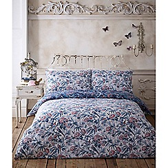 Butterfly Home by Matthew Williamson - Navy 'Bamboo' bedding set