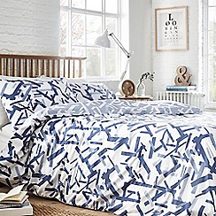 Home Collection Basics - Blue 'Benjamin' bedding set