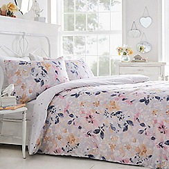 Home Collection - Multicoloured 'Loretta' bedding set
