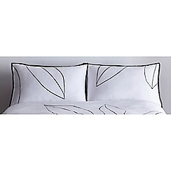 J by Jasper Conran - White 'Westminster' standard pillowcase pair