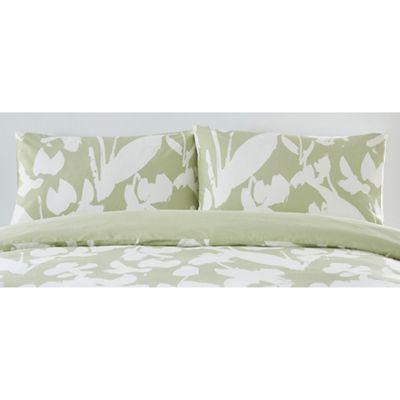 J by Jasper Conran Light green 'Southbank' standard pillowcase pair | Debenhams