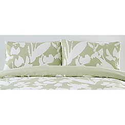 J by Jasper Conran - Light green 'Southbank' standard pillowcase pair