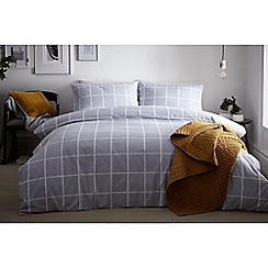 J by Jasper Conran - Blue 'St James' duvet cover
