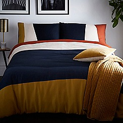 J by Jasper Conran - Multicoloured 'Putney' duvet cover