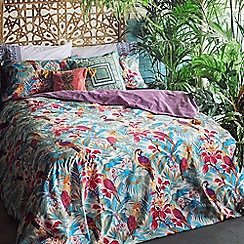 Butterfly Home by Matthew Williamson - Multicoloured 'Macaw' bedding set