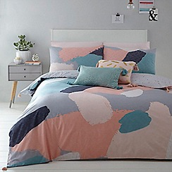 Home Collection Basics - Multicoloured ' Cosmo Alyssa' bedding set