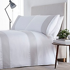 J by Jasper Conran - White 'Wandsworth' bedding set