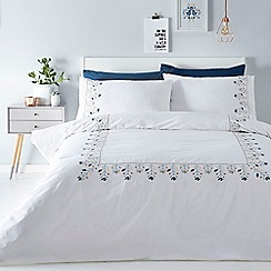 Home Collection - White 'Elsa' bedding set