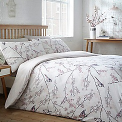 Home Collection - Multicoloured 'Amelie' bird bedding set