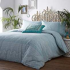 Butterfly Home by Matthew Williamson - Aqua 'Asala' bedding set