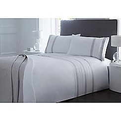 J by Jasper Conran - White 'Bexley' bedding set