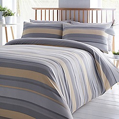 Home Collection - Grey 'Karina' bedding set