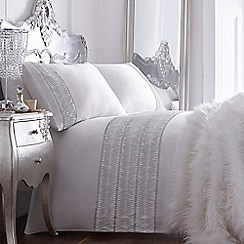 Star by Julien Macdonald - White 'Rhiannon' bedding set