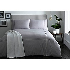 J by Jasper Conran - Grey 'Leadenhall' bedding set