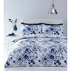 Home Collection - Blue 'Madeleine' bedding set