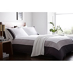 J by Jasper Conran - White 'Fitzrovia' bedding set