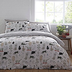 Home Collection - Multicoloured 'Kitty' bedding set